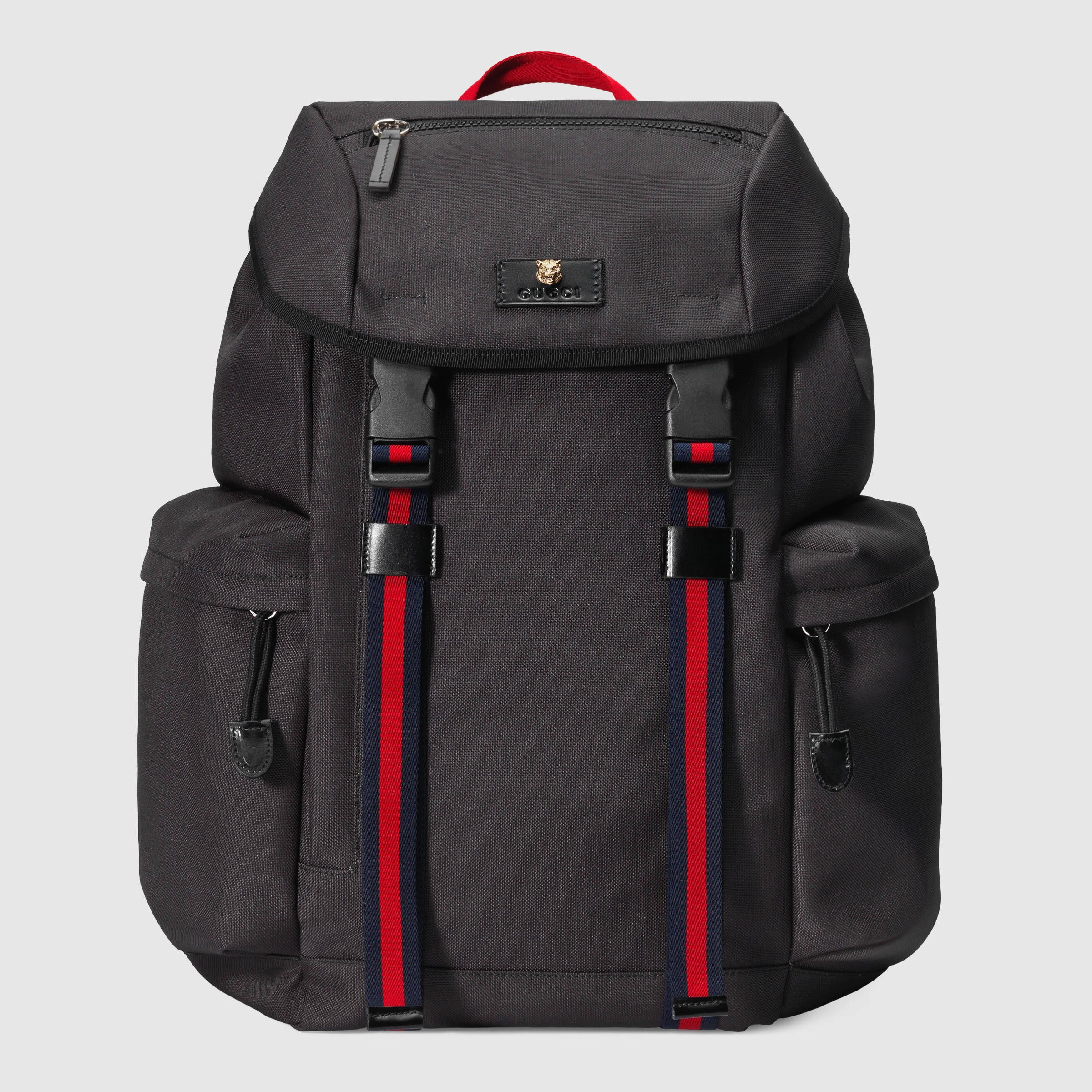 f3132fd96a Zaino in tessuto tecnico | prod. | Canvas backpack, Men's Backpack e ...