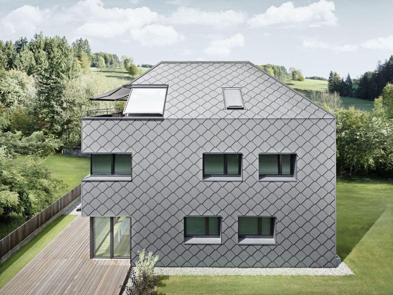 Aluminium Roof Shingle Scaglia 44 By Prefa Italia Aluminum Roof Shingles Aluminum Roof Roof Shingles