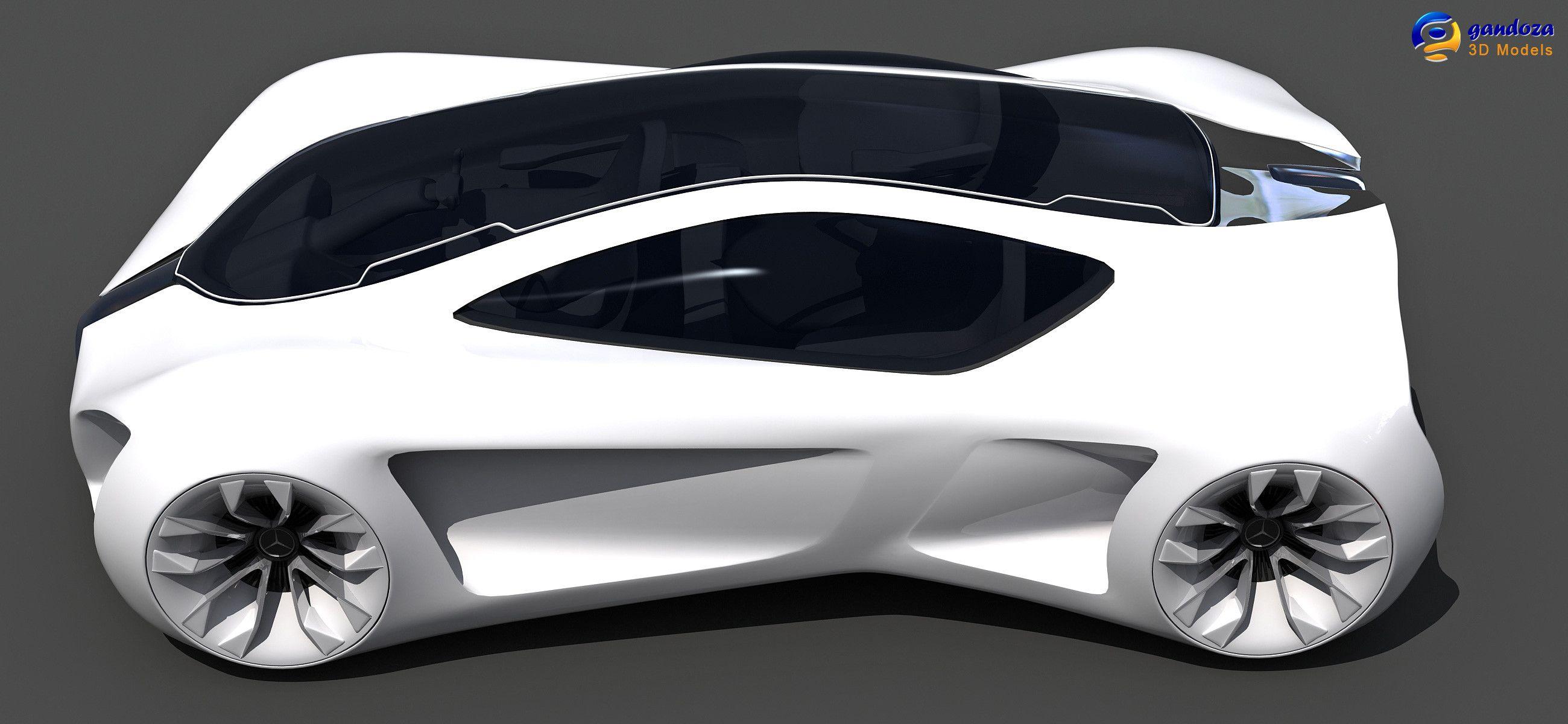 3d Mercedes Benz Biome Concept Car Model Mercedes Benz Biome Concept Cars Benz