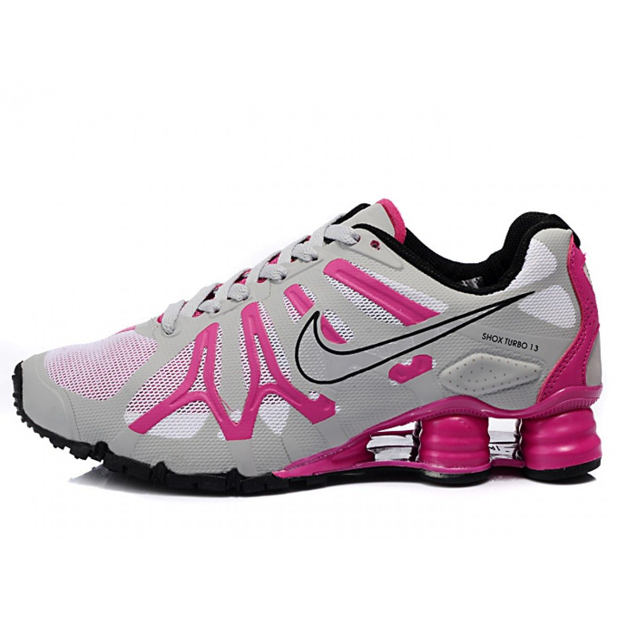Nike Shox Shoes for Women  Home Nike Shox Turbo13 Womens Shoe Pink White