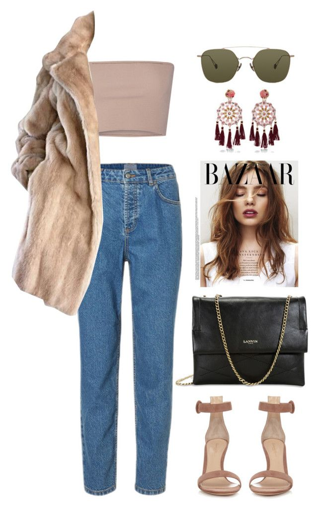"""""""did we..."""" by mikaylaperrine ❤ liked on Polyvore featuring Calvin Klein Collection, Lilli Ann, Gianvito Rossi, Lanvin, Mercedes Salazar and Ahlem"""