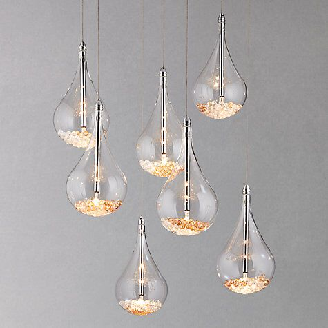 John Lewis Sebastian 7 Light Drop Ceiling Light | Accessories ... on retail lighting, ikea lighting, constellation lighting,