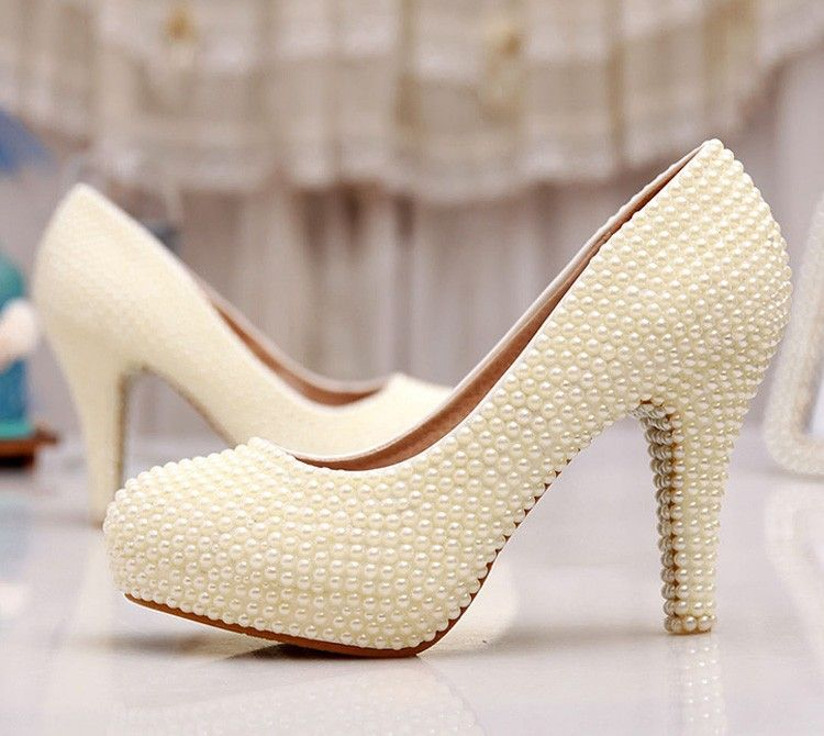 379158195b89 Online Get Cheap Ivory Wedding Shoes 3 Inch Heel -Aliexpress.com ...