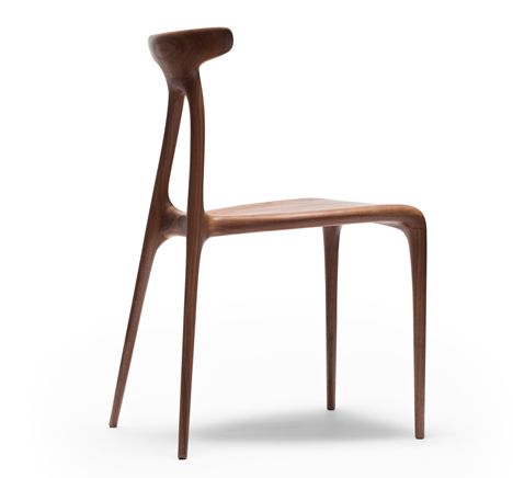 Furniture Design Ratios made in ratio uses cnc cutting to create an a-shaped chair