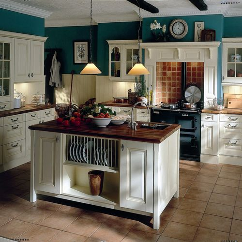 Black And White With Turquoise Kitchen Google Search