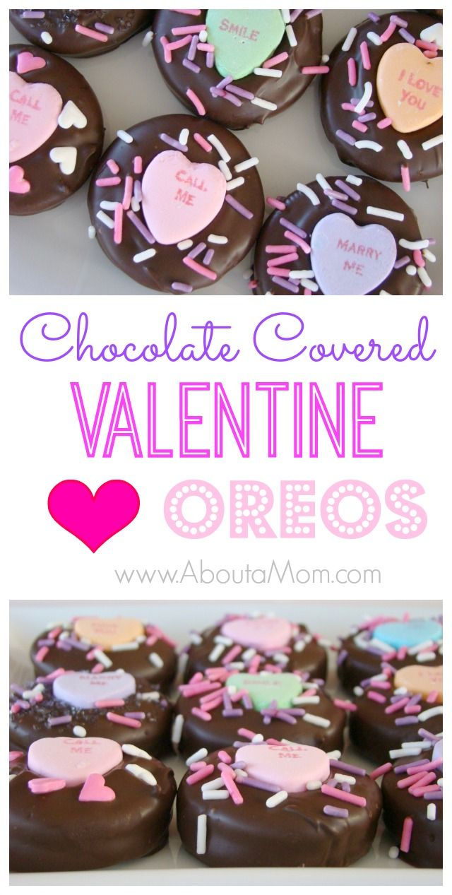 Valentine S Day Chocolate Covered Oreos Recipe Crafty 2 The Core