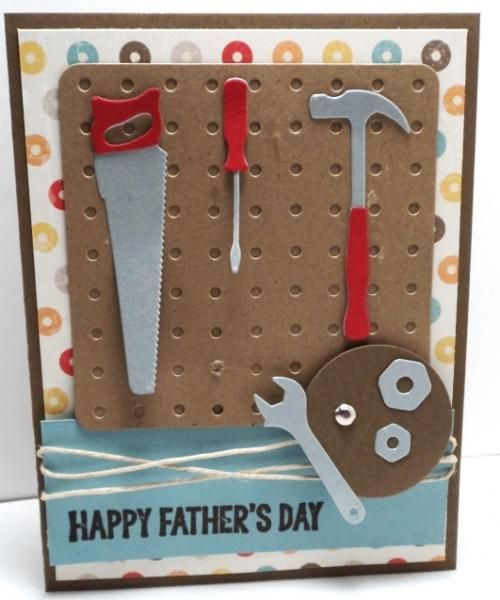 Card Father's Day Tool Time Tools F4A221 By Dani114