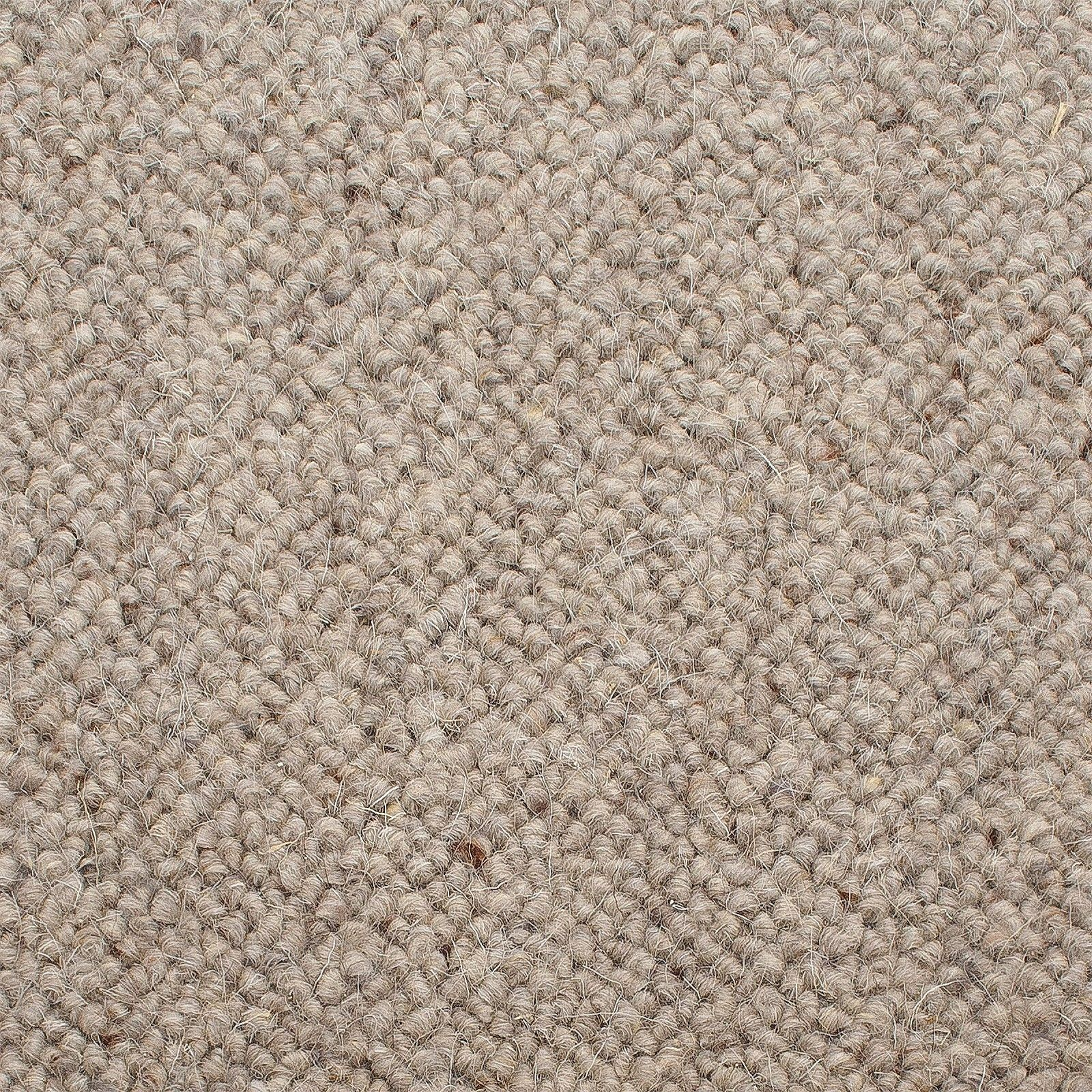 Corsa Berber 920 Ash Grey Wool Carpet Carpet