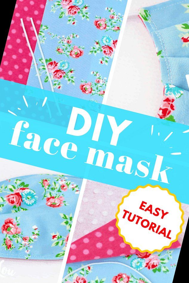 28+ Diy Face Mask With Elastic In 10 Minutes! | Fa