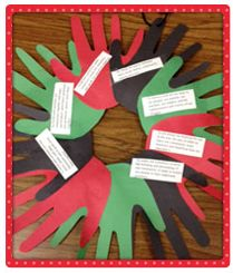 Kwanzaa Wreath -Soc. St. holidays from other cultures*