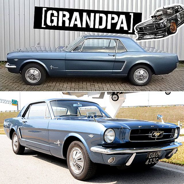 Meet The Ken Block S Hoonicorn Grandpa 4wd 1965 Ford Mustang