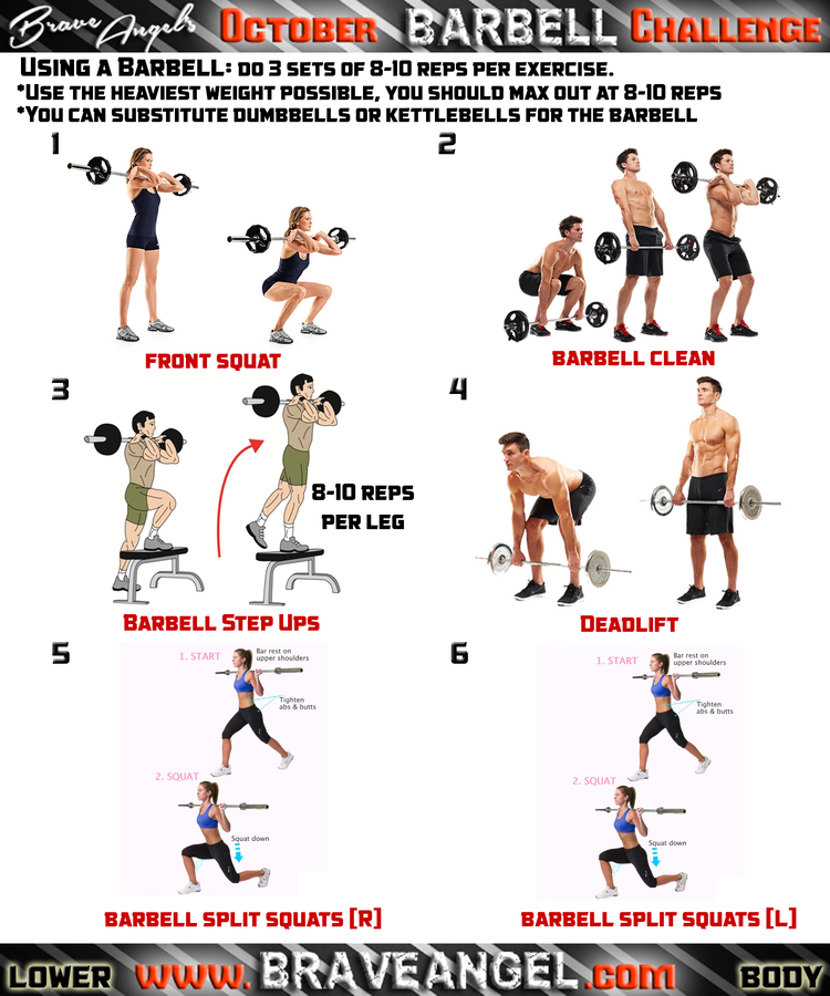 Free Weights Total Body Workout: Week #3 Workout Routines