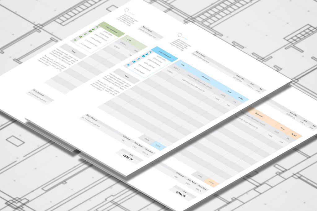 Business Invoices Templates for Indesign -    graphicrivernet - business invoices templates