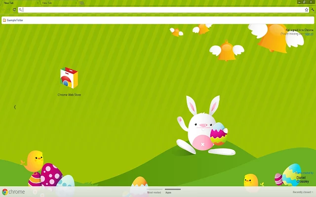 Fun And Colorful Easter Themes For Chrome Firefox Internet Explorer