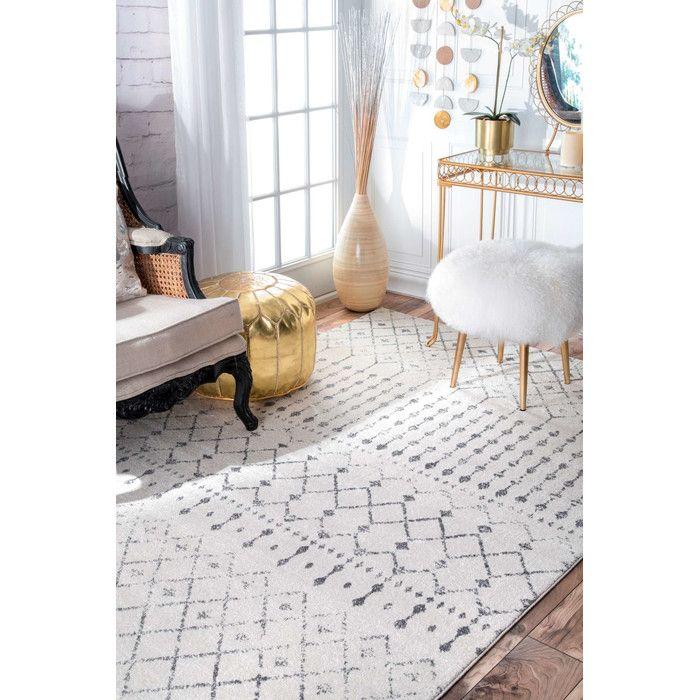 Laurel foundry modern farmhouse olga gray area rug reviews allmodern