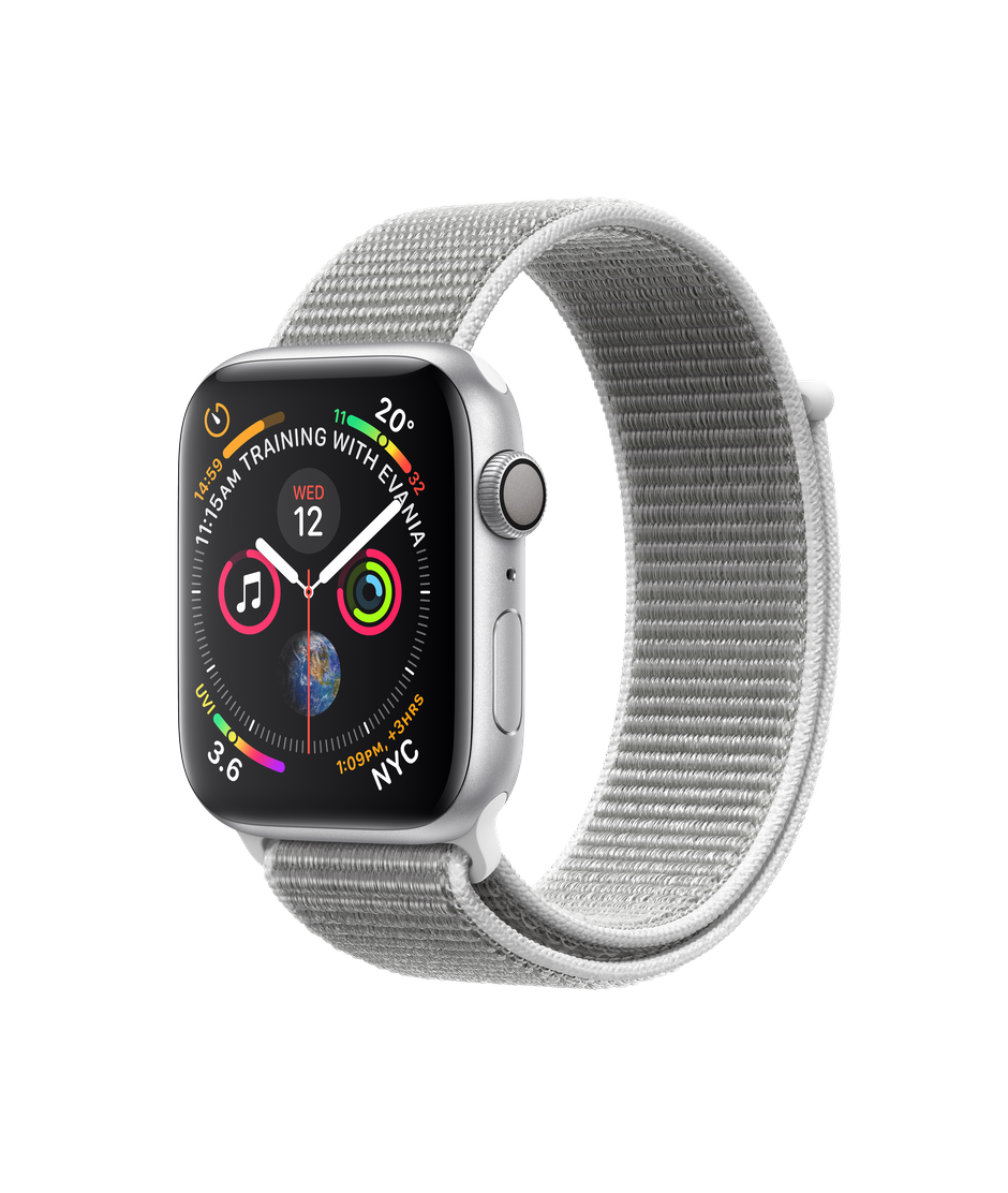 Apple Watch Silver Aluminium Case With Seashell Sport Loop Apple Ca Buy Apple Watch Apple Watch Silver Apple Watch