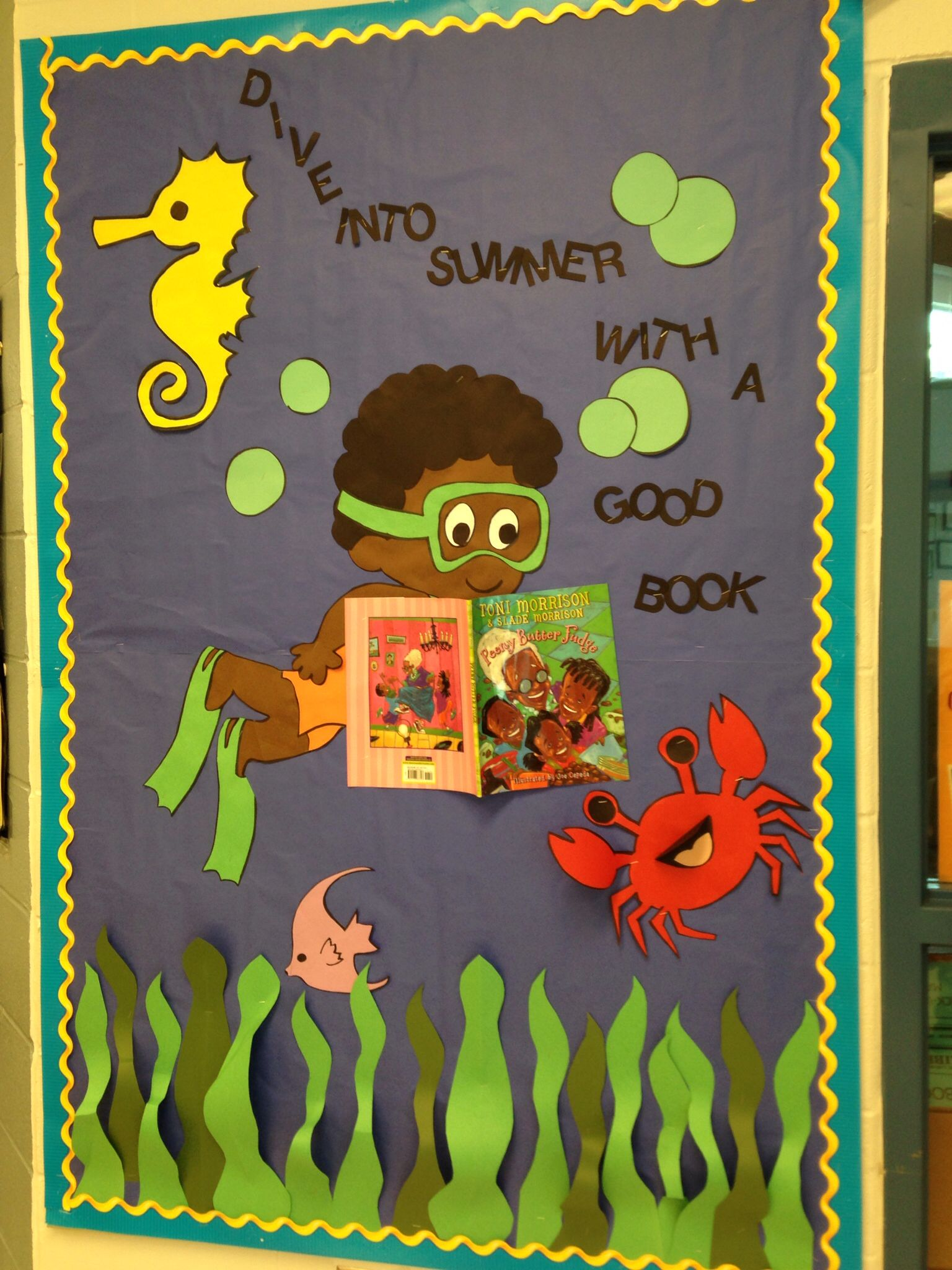 Summer Reading Bulletin Board | Reading bulletin boards ...