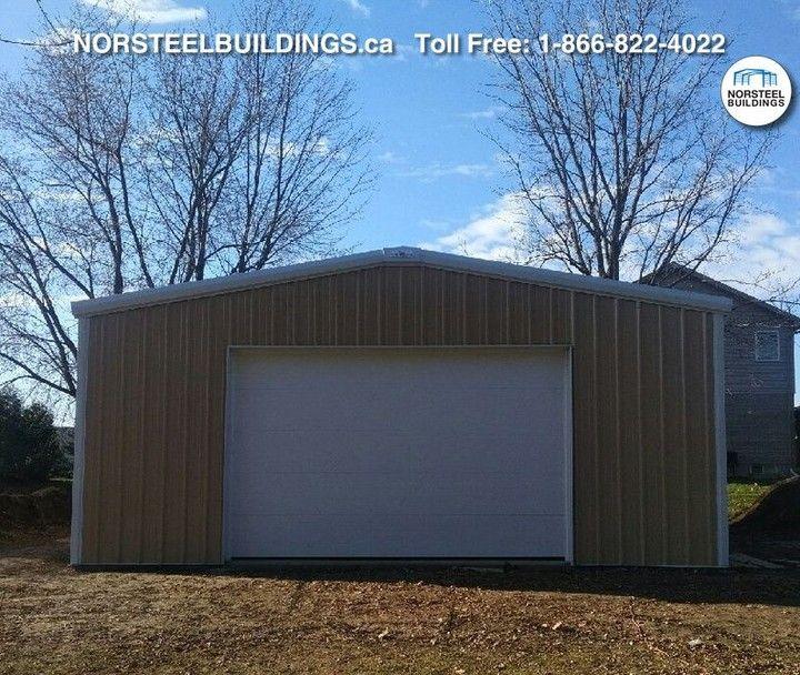 @NorsteelBuildings posted to Instagram: This in one of Norsteel's DIY EasyBuild Buildings, located in Ontario. #norsteel #norsteelbuildings #steelbuilding #steelbuildings #steel #metalbuilding  #metalbuildings #metal #steelstructure #steelstructures #metalstructure #Canadian #preengineered #preengineeredbuilding #preengineeredbuildings #preengineeredsteel #customdesign #customdesigned #EasyBuild #Ontario #Backyard #Garage #workshop