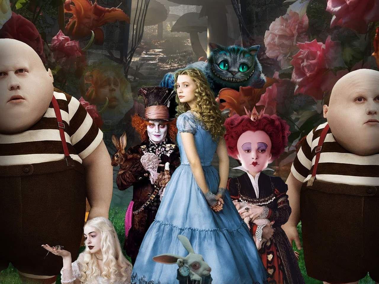 Alicia En El Pais Delas Maravillas Ilógica Extravagante Y Divertida Dirección Alicia En El País De Las Maravillas Peliculas De Disney Nombres De Peliculas