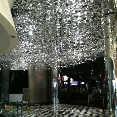 Crown casino clusters yellow goat design custom lighting