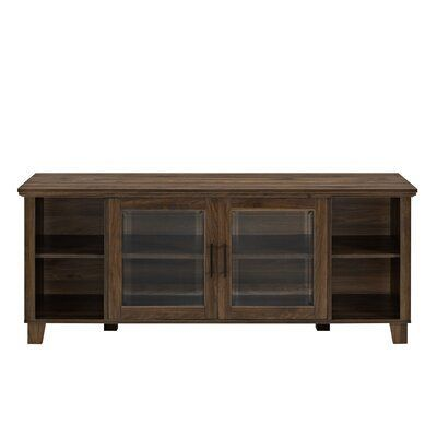 Birch Lane™ Heritage Cabinet/Enclosed Storage TV Stand for TVs up to 65 inches... -  Birch Lane™ Heritage Cabinet/Enclosed Storage TV Stand for TVs up to 65 inches Color: Dark Walnut - #Birch #CabinetEnclosed #Heritage #inches #Lane #stand #Storage #tvstanddecor #TVs