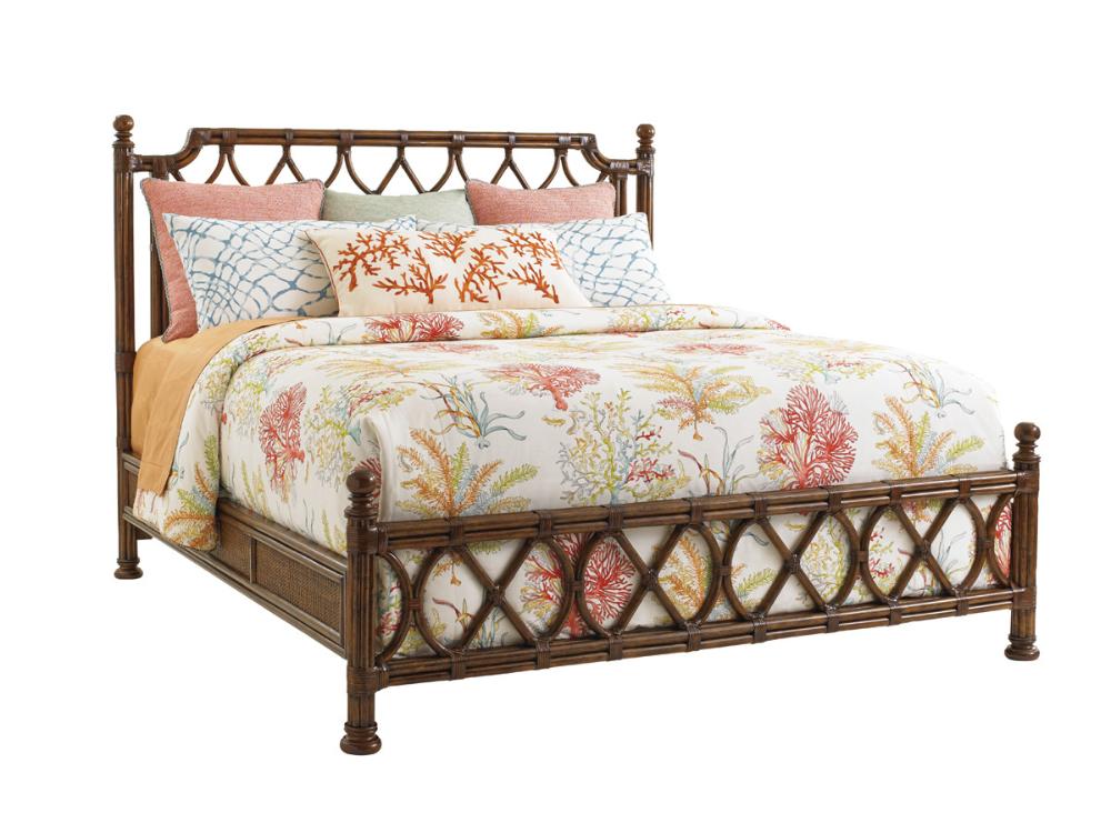 Island Breeze Rattan Bed Lexington Home Brands in 2020
