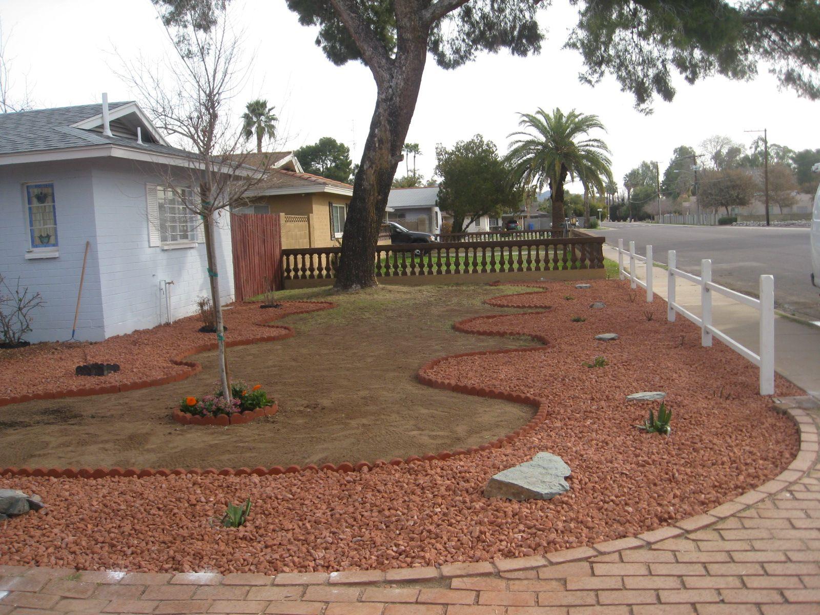 front yard landscape design phoenix