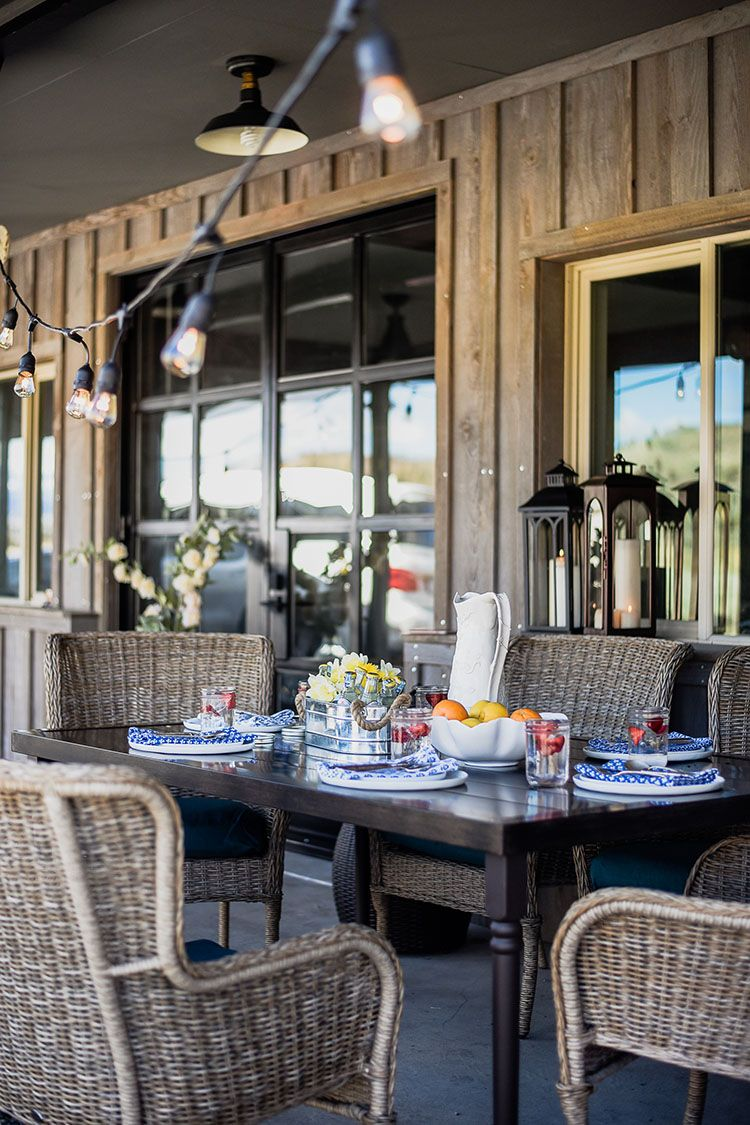 5 Easy Outdoor Entertaining Tips To