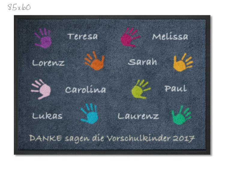 KITAmatte Hände + Namen | Geschenke zum abschied ...