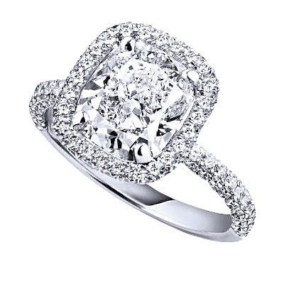Beyond Bling Halo Style Engagement Rings