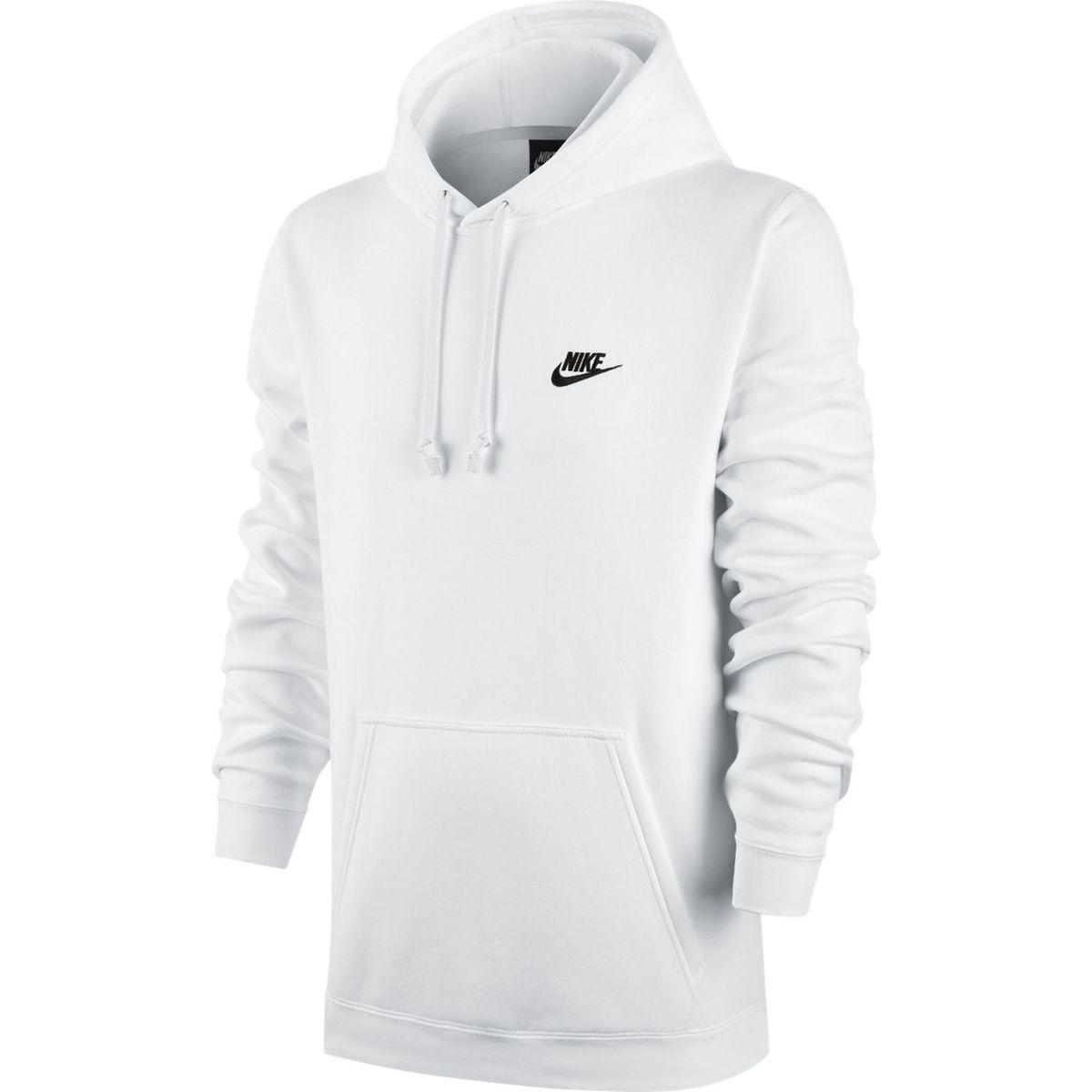 hoodie nike homme blanc