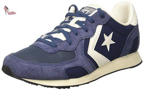 Chaussures Converse Auckland Racer blanc cassé Fashion unisexe  Chaussures de Randonnée Hautes Homme  Taille:41.5 4GxZD0