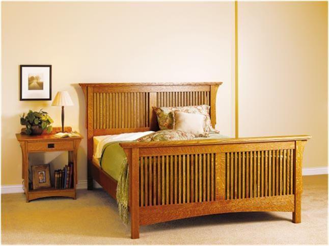 Arts Crafts Bedroom Suite Bed Woodworking Plans Mission Style Bedroom Furniture Woodworking Furniture Plans
