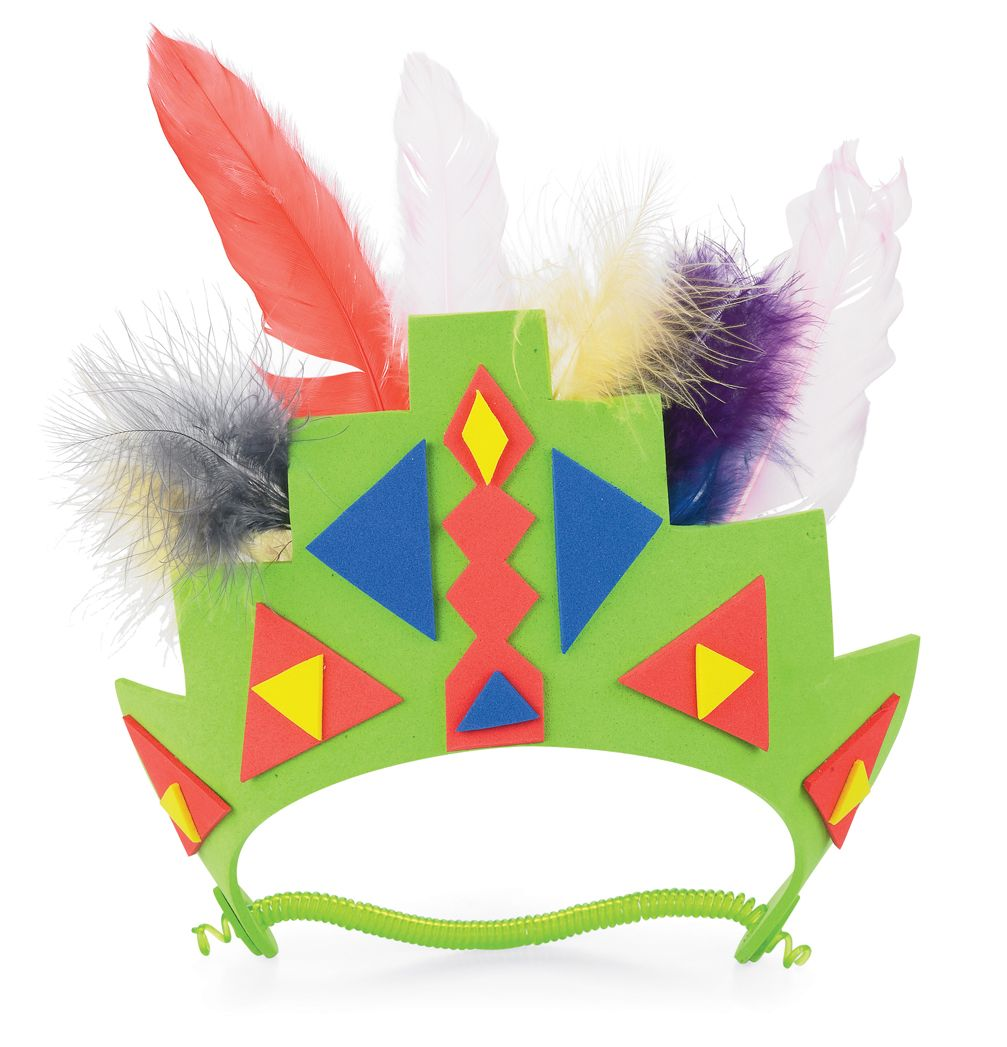 South america headress around the world crafts for kids for Craft schools in usa