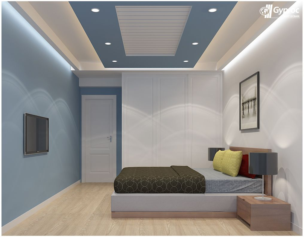 Simple bedroom ceiling design - Simple Yet Beautiful Bedroom Designs Only By Gyproc To Know More Www Gyproc In