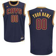 adidas Cleveland Cavaliers Mens Custom