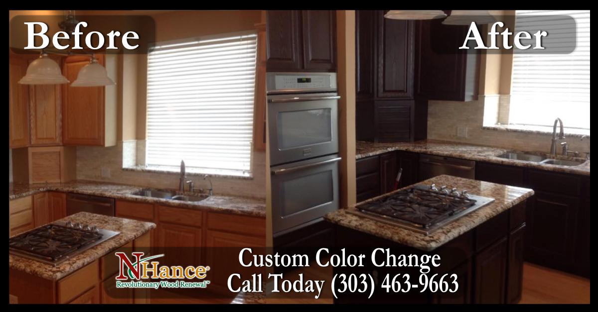 Restoring Cabinets in Denver - NHance of Arvada | Steel ...