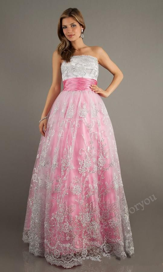 prom dresses prom dresses | Vestidos Bonitos | Pinterest | Dulces 15 ...