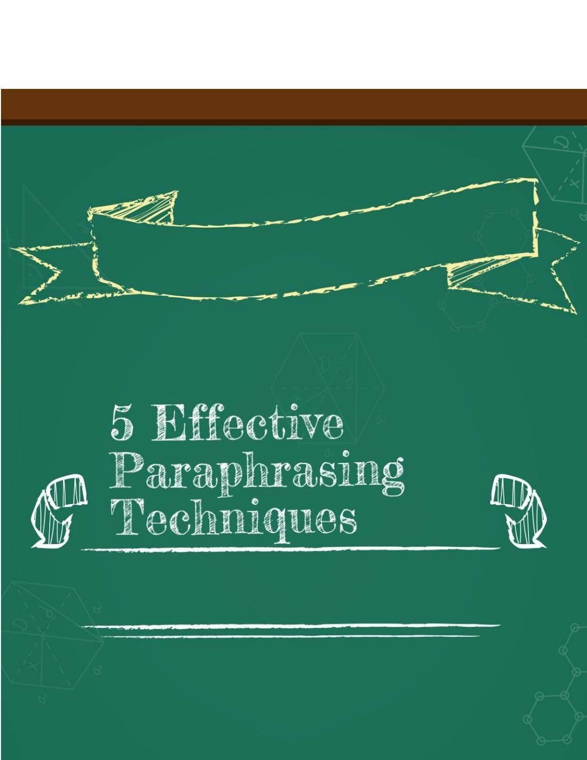 Image Result For Paraphrasing Versu Parroting Call Center Paraphrase Techniques