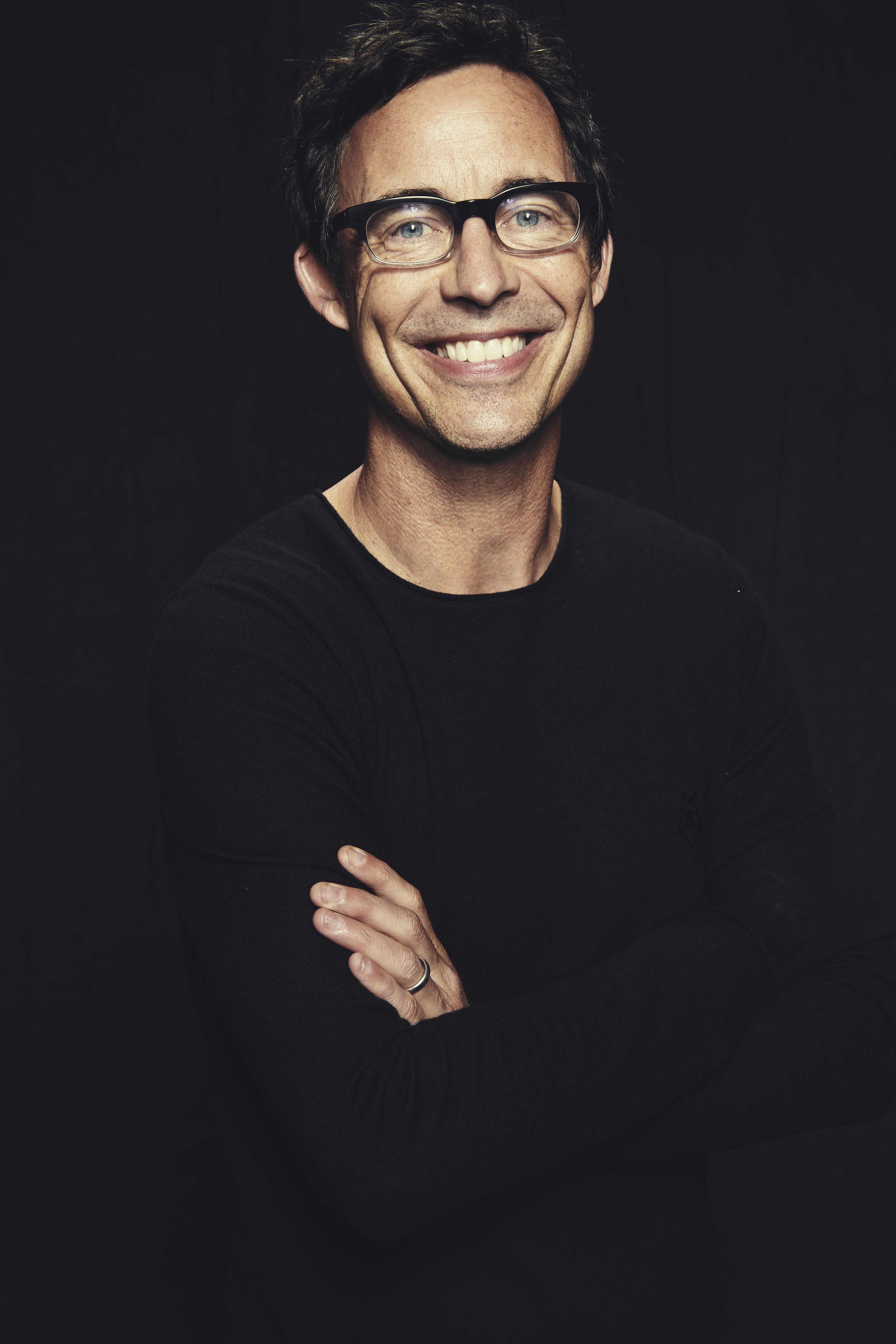 THE FLASH star Tom Cavanagh visited the Warner Bros. Television Photo Studio at WBTV's Comic-Con cocktail media mixer at the Hard Rock Hotel's FLOAT Rooftop Bar on Friday, July 25. #WBSDCC