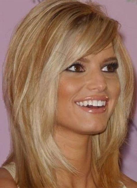 20 Gorgeous Medium Length Hairstyles for Women #jessicasimpsonhair