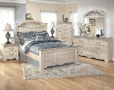 B196 67 Ashley Furniture Queen Poster Bed Bedroom Furniture Sets Bedroom Set Furniture