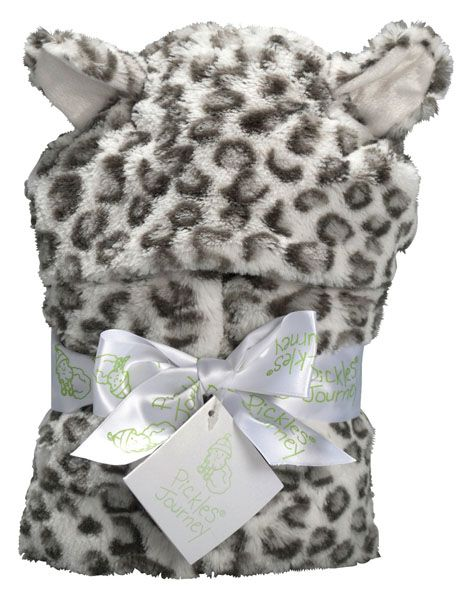 Journey Kids Snow Leopard Faux Fur Hooded Wrangle Wrap.  I really want one! Could work for either gender.