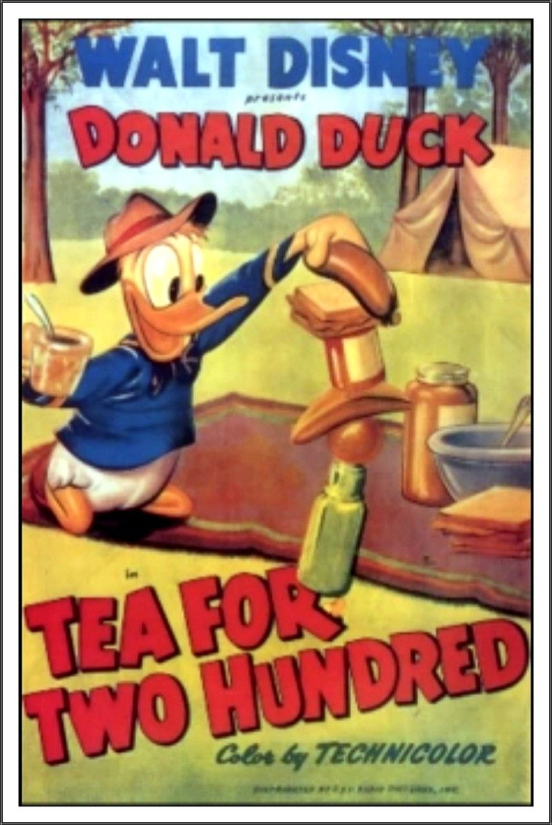Clarence Nash The Trial of Donald Duck Movie POSTER 27 x 40 A USA NEW