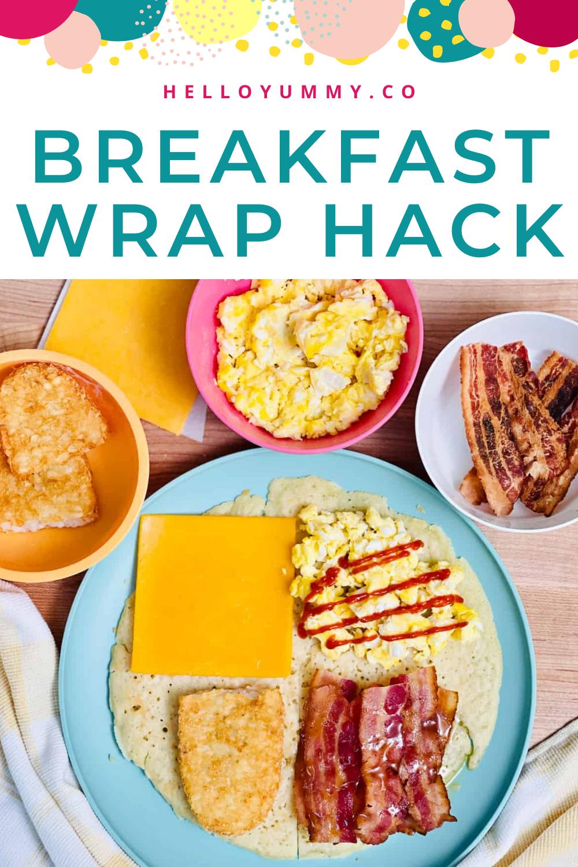 Tiktok Breakfast Wrap Hack Best Wrap Recipe Made With Pancakes Recipe In 2021 Breakfast Wraps Food Recipes