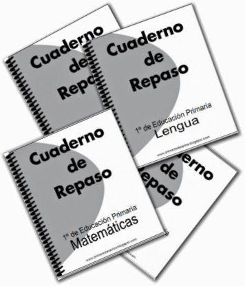 Espacio de PT: Cuadernos de repaso para 1º de primaria | actividades ...