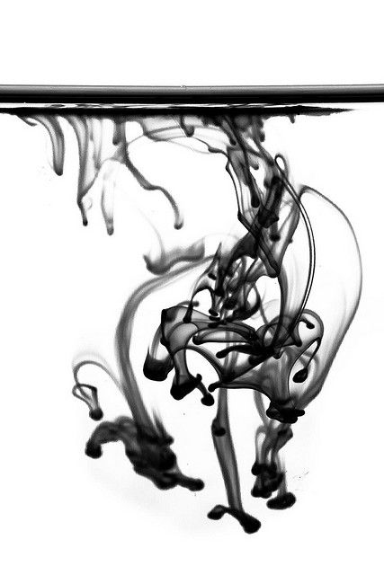 ink in water