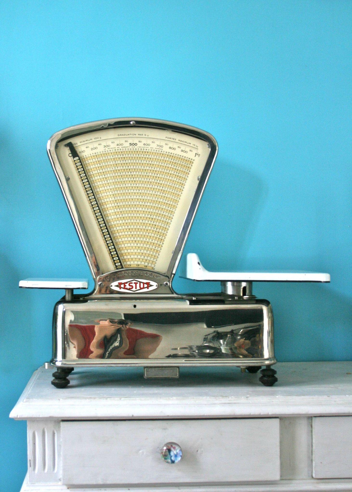 BALANCE TESTUT VINTAGE | Vintage scales | Pinterest | Vintage ...