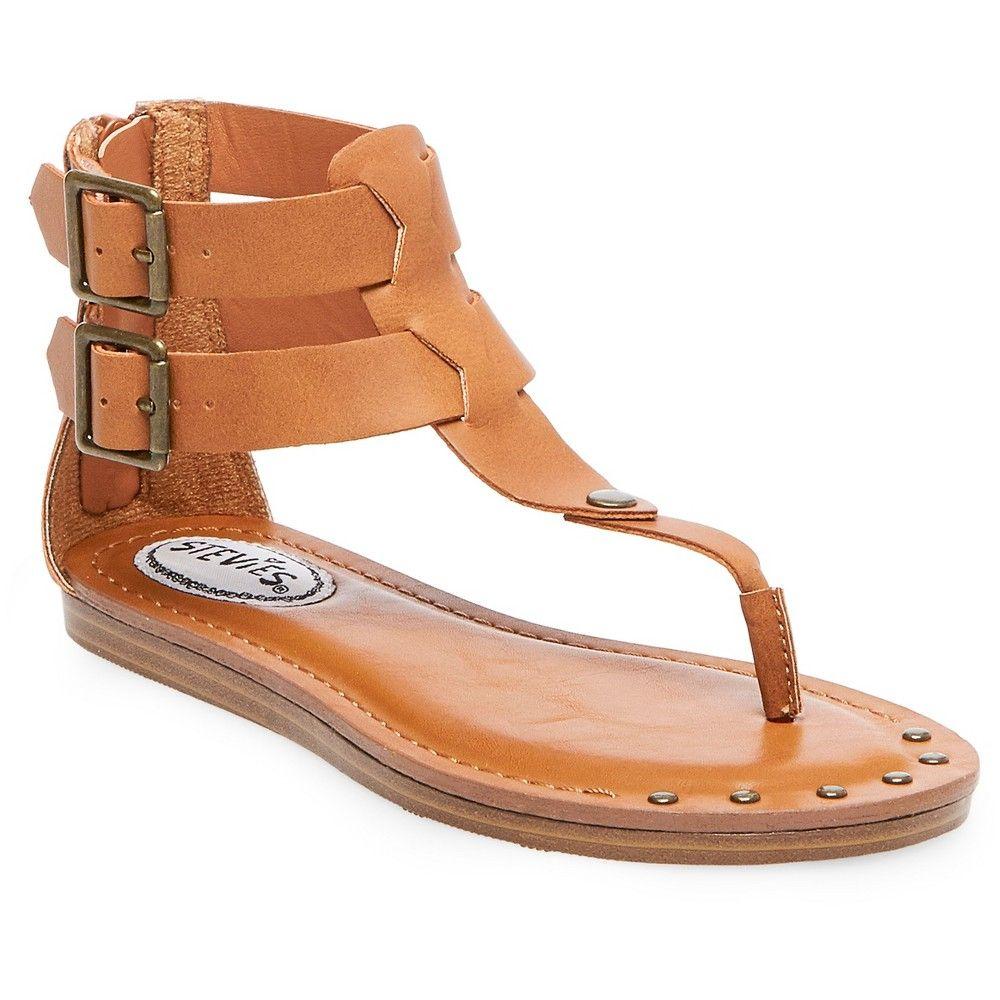 28f8fa317ef6 Girls  Stevies  sundee Double Buckle Thong Sandal - Cognac 5