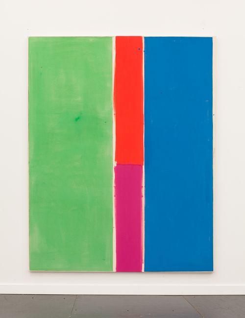 Matt Connors, MH C'S BV'S, 2013, Acrylic on canvas, 198.1 x 157.5 cm / 78 x 62 in